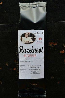 HAZELNUT FLAVOURED COFFEE gemalen 125 GR
