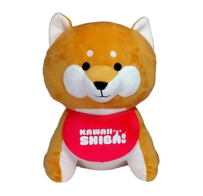 Shiba Inu Plush - Official Kawaii Shiba Co. Plush With Bandana and Bag Set