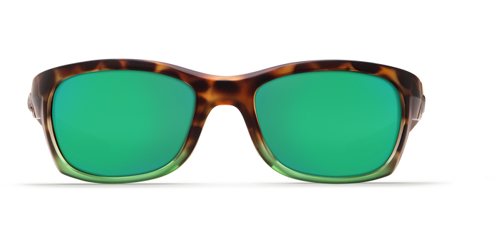 Costa Trevally 580G Sunglasses - Tortoise Frame/Green Mirror Glass