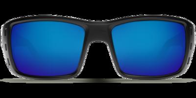 Costa Permit 580G Sunglasses - Matte Black/Green Mirror