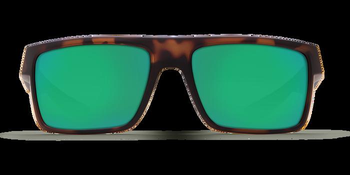 Costa Motu 580G Sunglasses - Matte RetroTortoise Frame/Green Mirror Glass