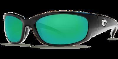Costa Hammerhead 580G Sunglasses - Shiny Black/Green Mirror