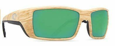 Costa Permit 580P Sunglasses - Ashwood/Green Mirror