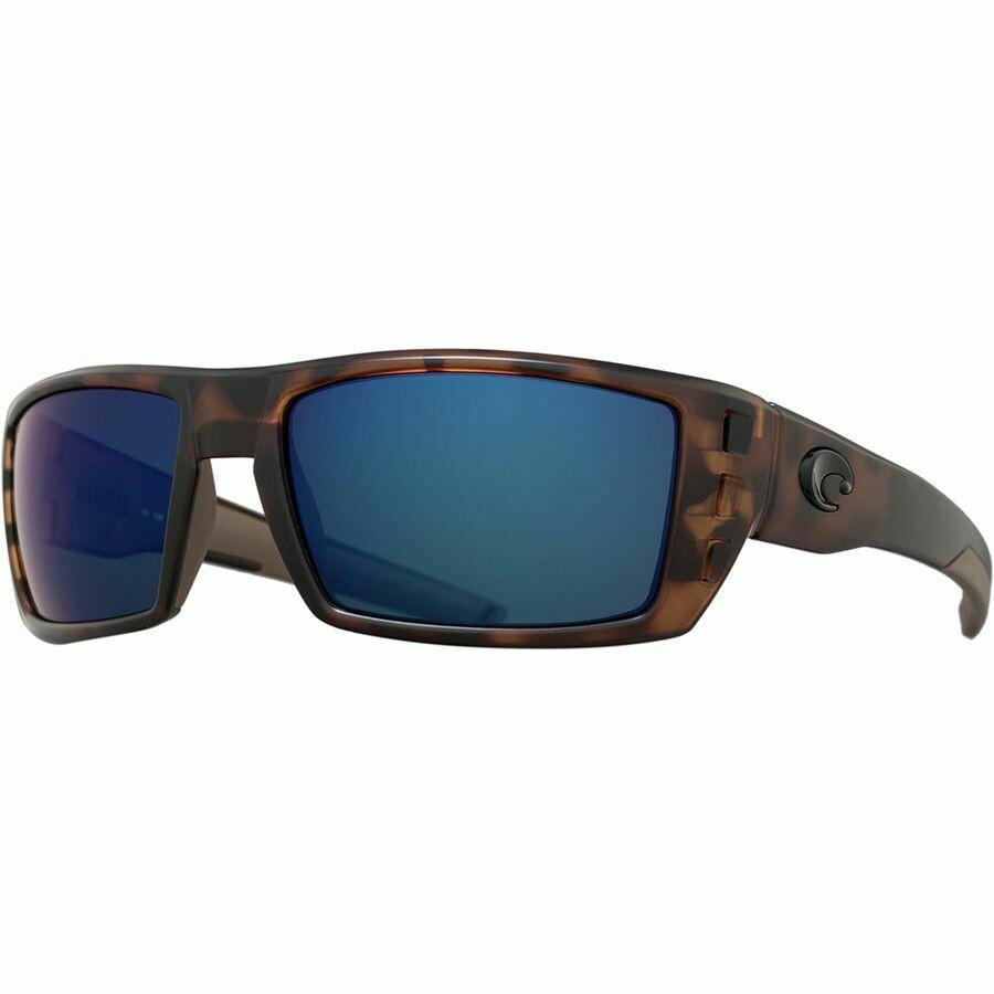 Costa Rafael 580P Sunglasses - Retro Tortoise/Blue Mirror