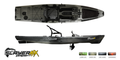 Native Watercraft Slayer Max 12.5 Kayak - Lizard Lick
