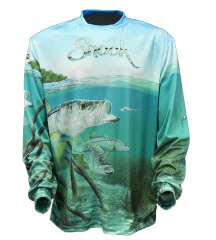 BIG FISH SNOOK LS SHIRT - XXL