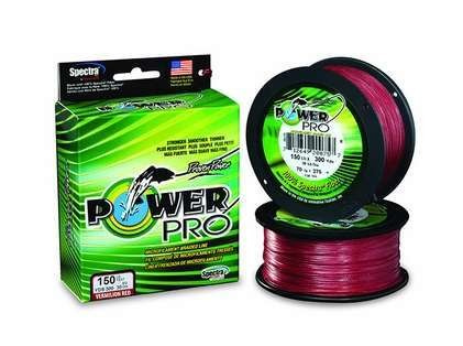 Power Pro 10lb/300yds - Vermillion Red