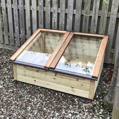 4ft x 3ft Tanalised Coldframe
