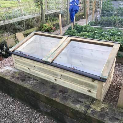 5ft x 2ft Tanalised Coldframe