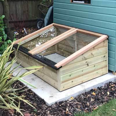 5ft x 3ft Tanalised Coldframe
