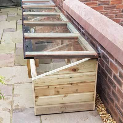 8ft x 2ft Tanalised Coldframe