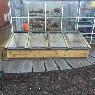 8ft x 3ft Tanalised Coldframe