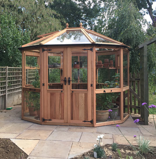 Bramshall Cedar Greenhouse 8ft 3