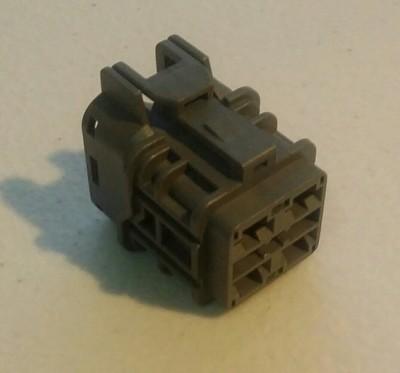 Radiator Fan Connector EVO 5&6 (Female)