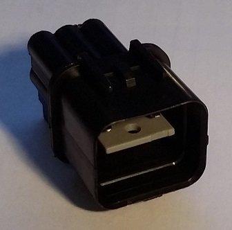 EVO Injector Resistor Delete Connector (Male).