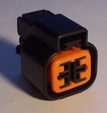 Mitsubishi O2 Sensor Connector, CT9A Headlight (Female)