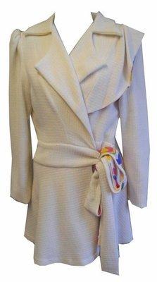 Wool Cream Coat