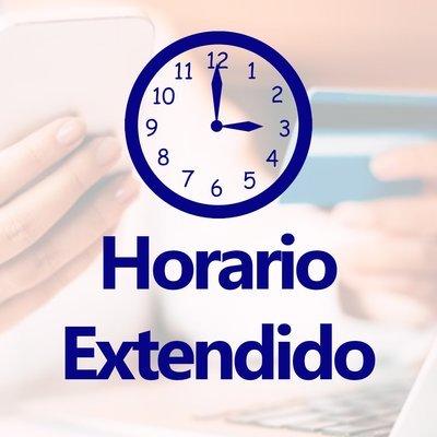 Horario Extendido