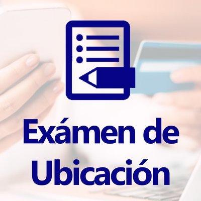 Examen de ubicación