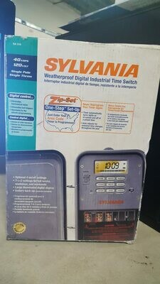Sylvania SA 310 Weatherproof Digital Industrial Time Switch