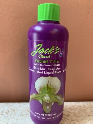Jack's Classic 8oz Liquid Orchid Food 7-5-6