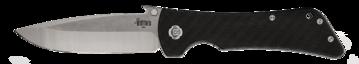 Southern Grind, SG02030008, Bad Monkey Emerson Drop Point Satin w/Carbon Fiber Handle