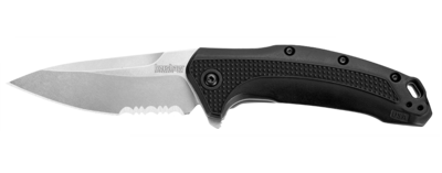 1776ST Kershaw FRN Handle/Satin Serrated Blade