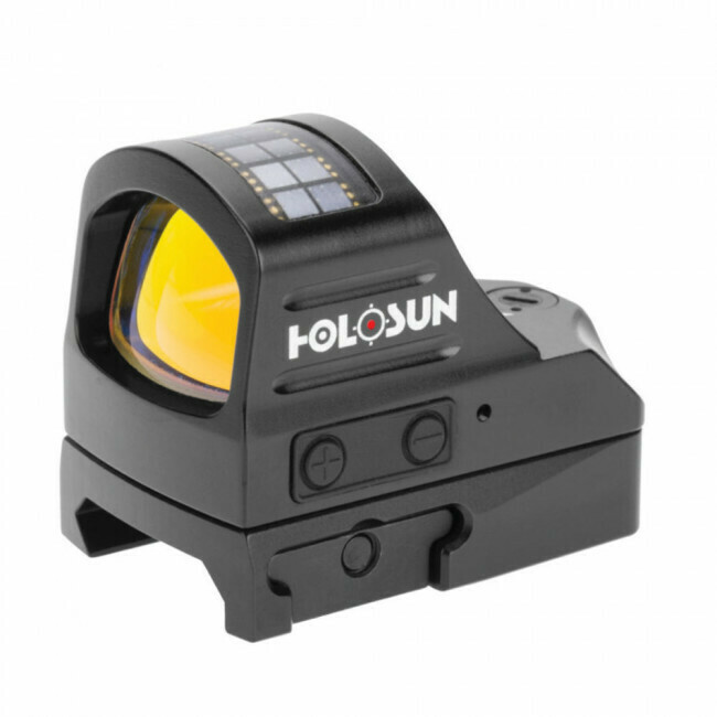 Holosun, HS407CO, Reflex Sight- 8 MOA Ring Reticle