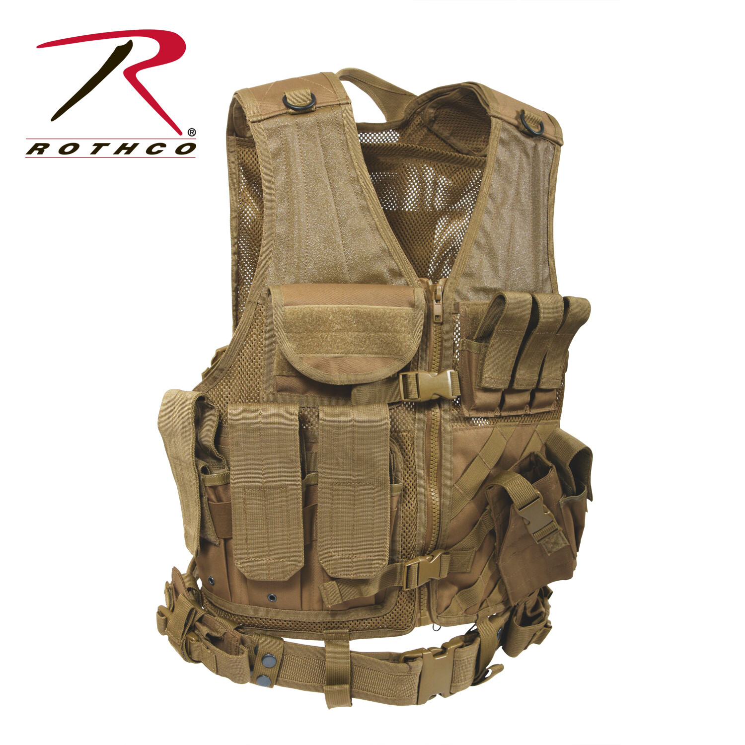 Rothco, Tactical Cross Draw Vest-2XL/3XL