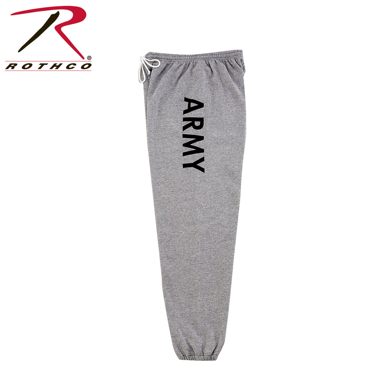 Rothco, 2085, G.I. Type Army Grey Physical Training Sweatpants