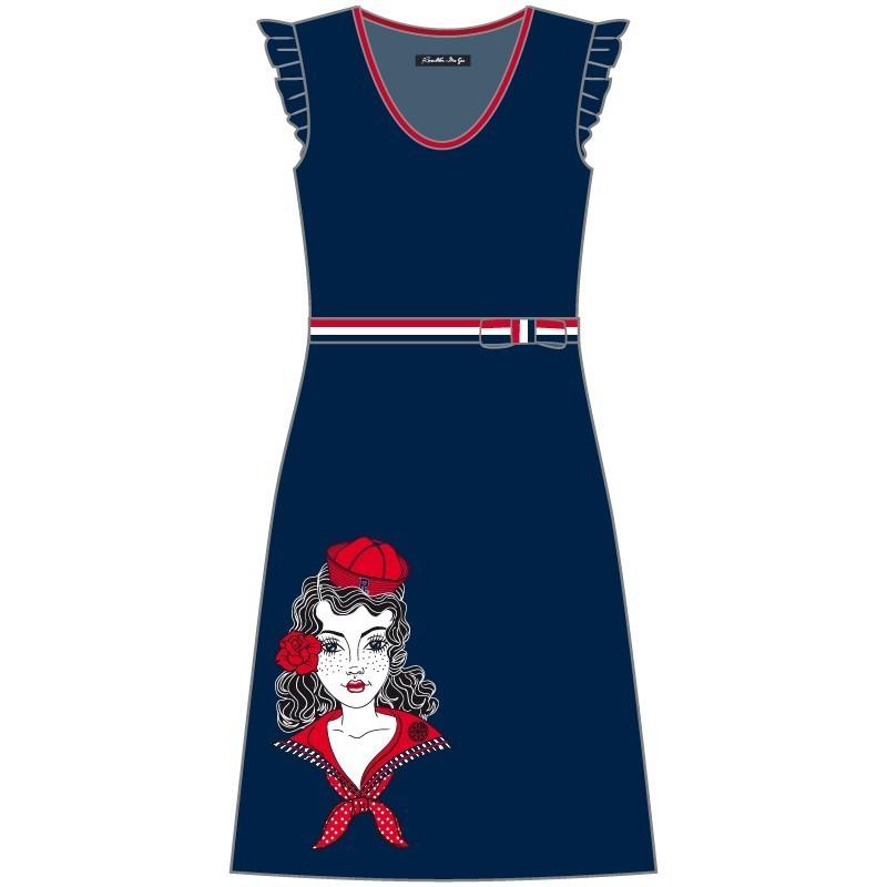 Rosalita McGee: Sexy Sailor Alejandra Cotton Dress (Few Left!)