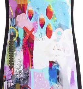 Simply Art Dolcezza: Fuschia Pink Cheek To Cheek Art Midi Dress SOLD OUT