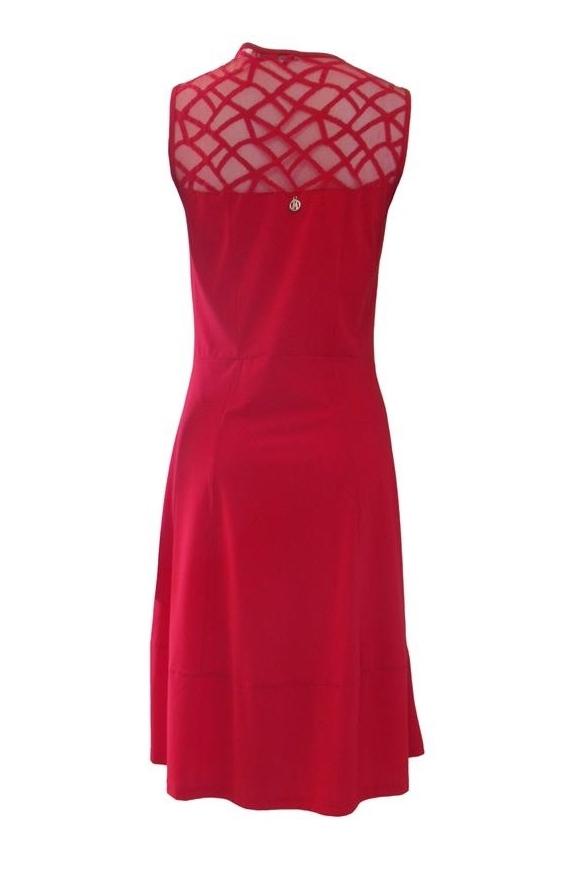 Maloka: Rose Mesh Decolletage Pocket Dress (Many Colors!)