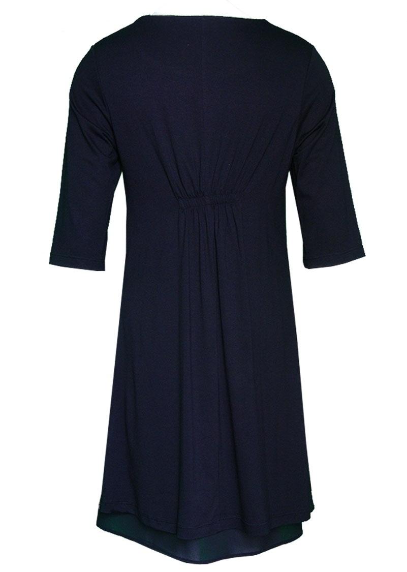 Double Jeu Paris: Matte Frosting Dress (Blue & Pink Front)