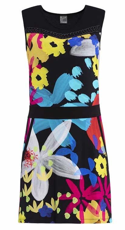 Simply Art Dolcezza: Intense Garden Of Zen Abstract Art Dress/Tunic (2 Left!) DOLCEZZA_SIMPLY_ART_19684_N