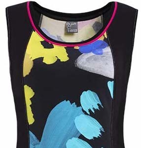 Simply Art Dolcezza: Intense Garden Of Zen Abstract Art Fit & Flare Dress/Tunic (3 Left!)