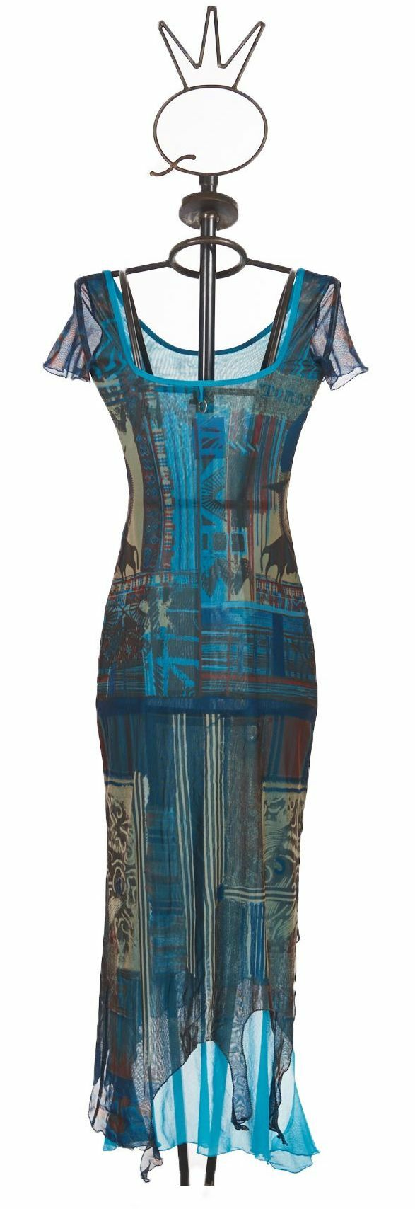 Save The Queen: Turquoise Sand Illumination Dress (1 Left!)