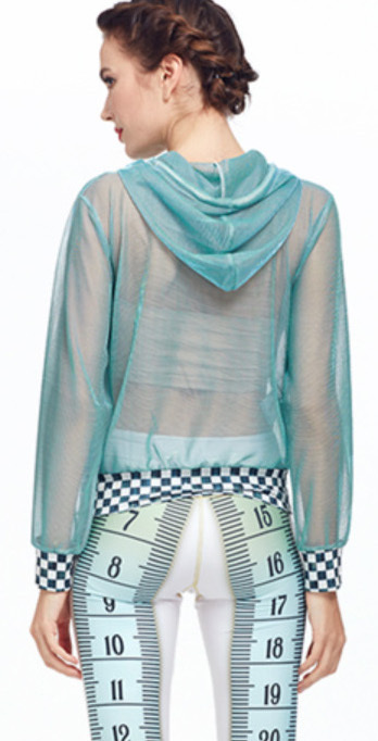 IPNG: Be Seen Clear Checkered Hem Jacket (More Colors!)