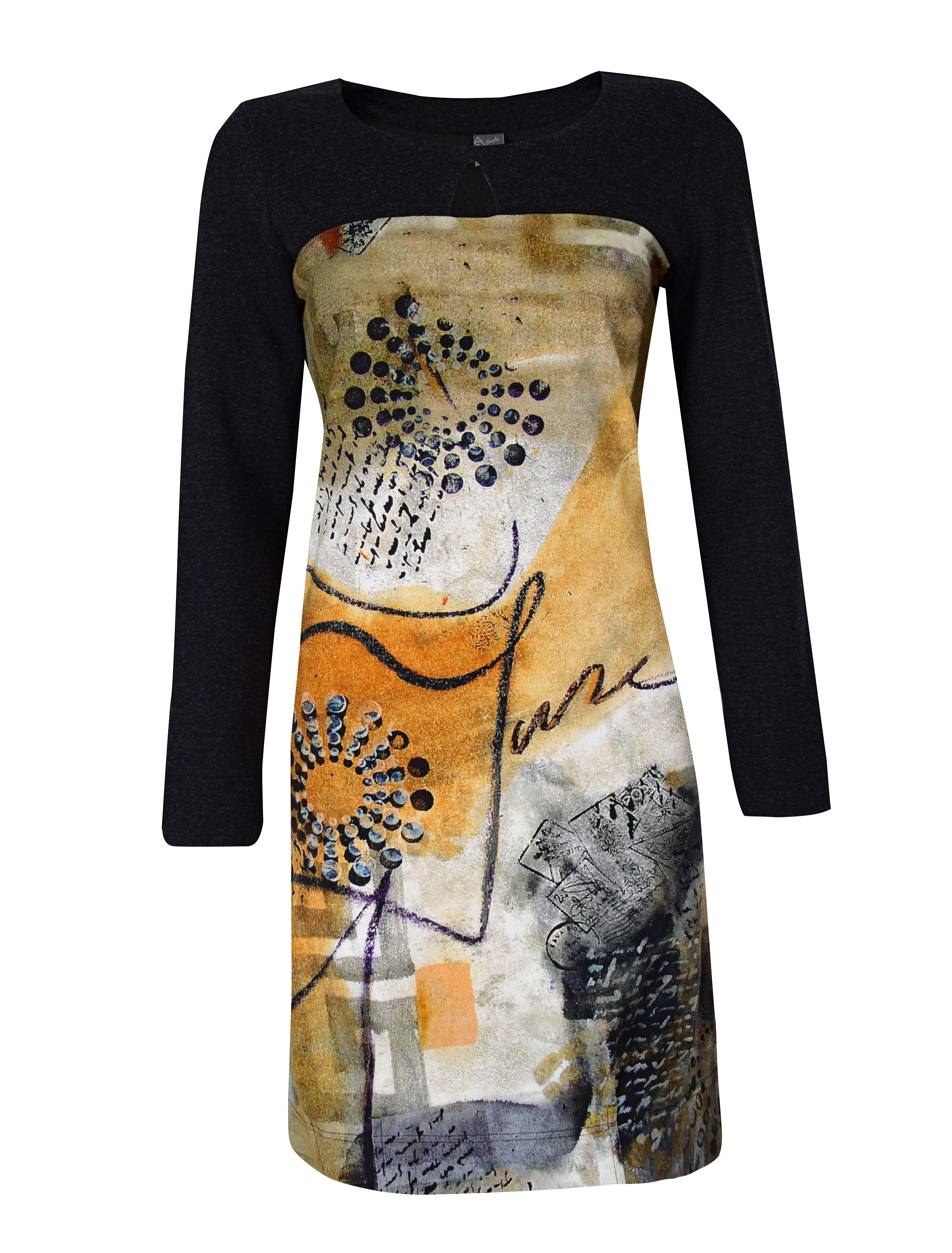 Simply Art Dolcezza: Romantic Rhythm Quilled Abstract Art Dress (1 Left!)