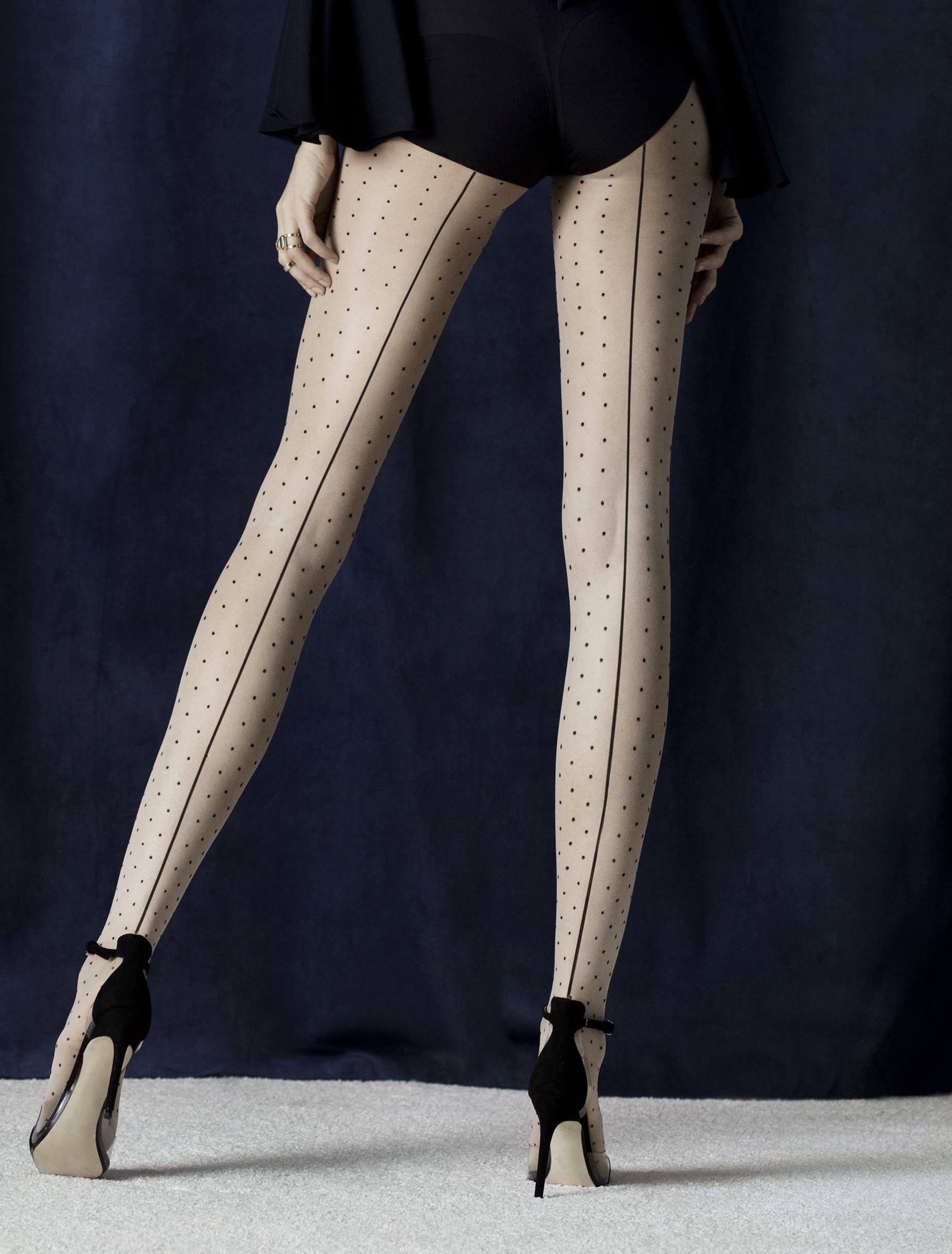 Fiore: Sexy Story Patterened Tights FIO_INTRIGUE_N