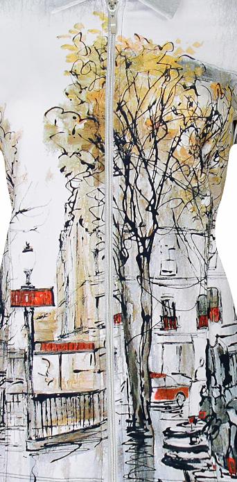 Simply Art Dolcezza: Splendid Parisian Life Zip Jacket (1 Left!)