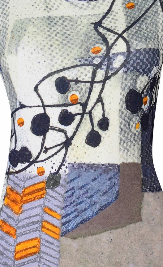 Simply Art Dolcezza: Incredibly Dandy Dragonfly Abstract Art Tunic (1 Left!)
