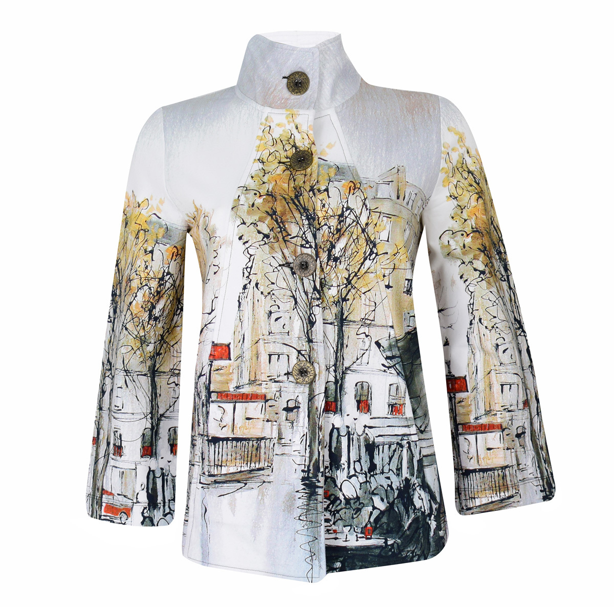 Simply Art Dolcezza: Splendid Parisian Life Swing Jacket SOLD OUT Dolcezza_SimplyArt_59707_N