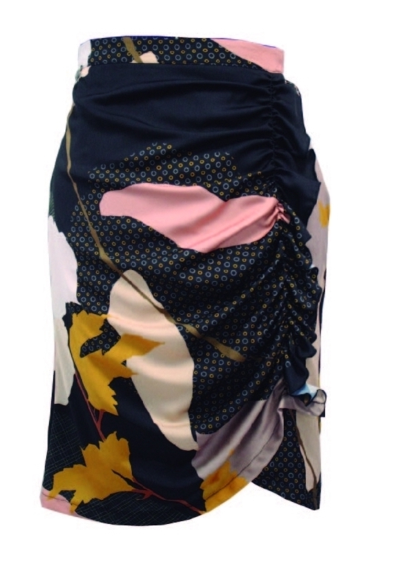 Maloka: My Favorite Flower Ruched Skirt (More Colors!) MK_ELVA_JUPE
