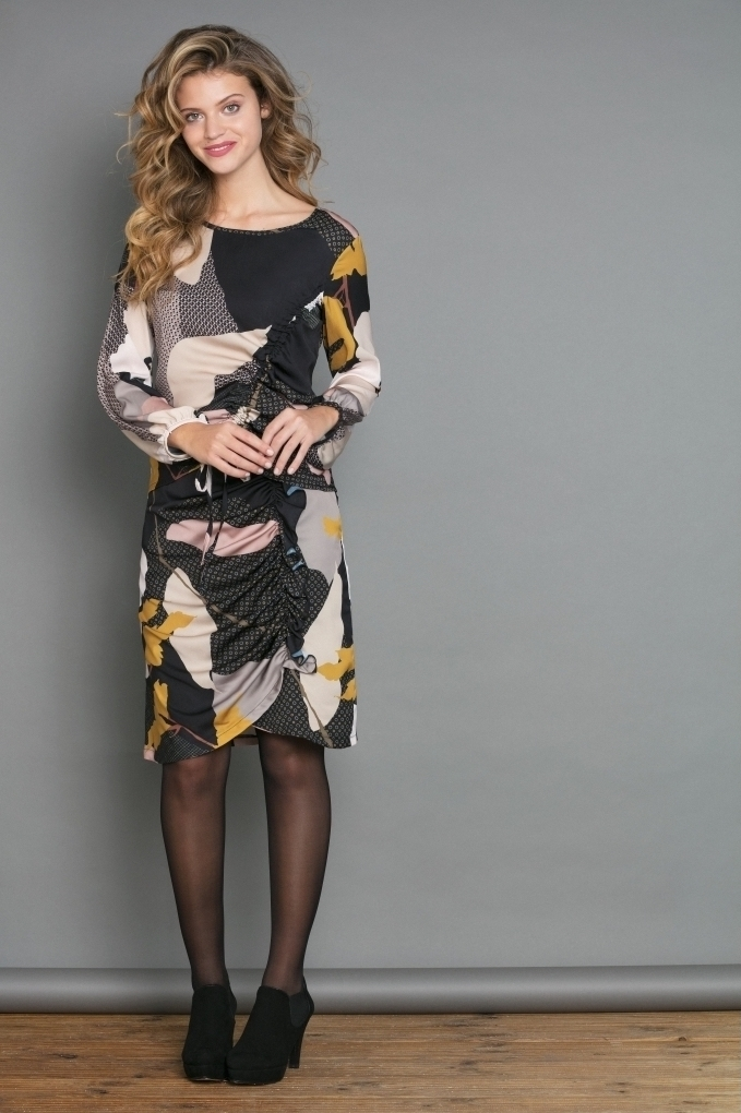 Maloka: My Favorite Flower Ruched Tunic (2 Left!)