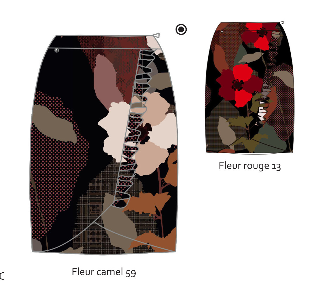 Maloka: My Favorite Flower Ruched Skirt (More Colors!)
