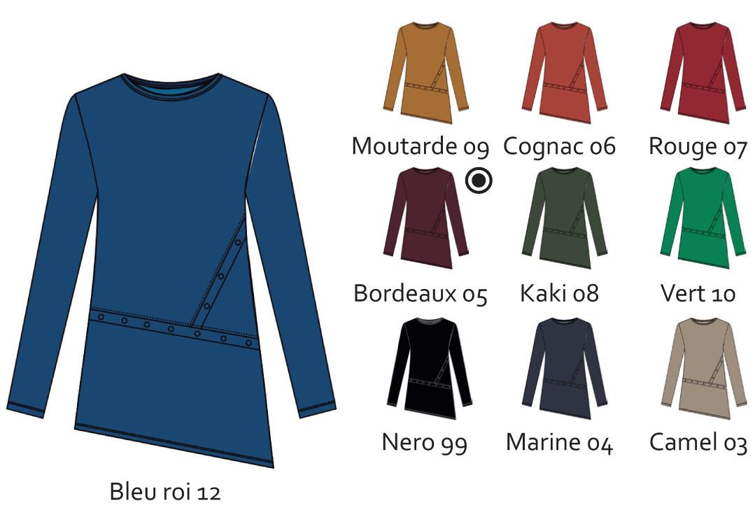 Maloka: Beautify My Waist Tunic (Only Blue Marline Left!)