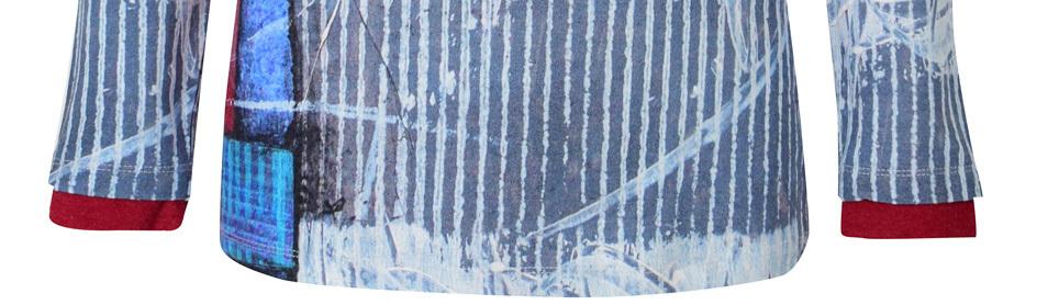 Simply Art Dolcezza: Asymmetrical Spiritually Square Uneven Abstract Art Tunic (1 Left!)