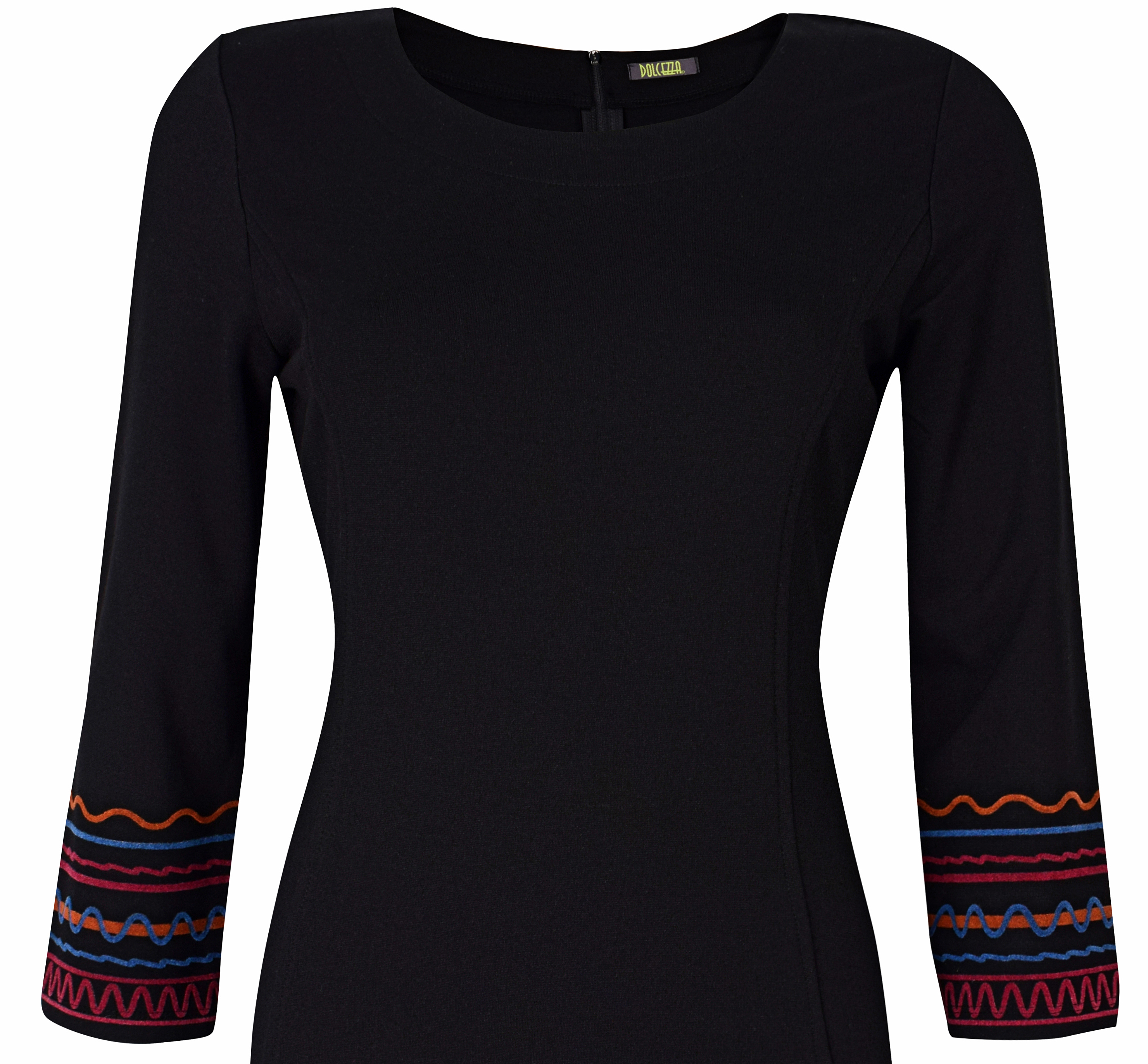 Dolcezza: Casablanca Rhythm Midi Back Zip Dress (2 Left!)