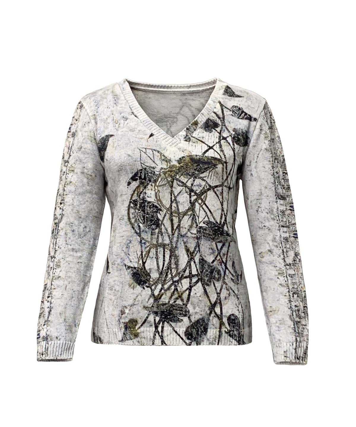 Simply Art Dolcezza: Random Acts Of Petal Beauty Abstract Art Sweater SOLD OUT Dolcezza_Simply_Art_59125